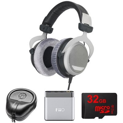 DT 880 Premium Headphones 250 OHM - 481793 w/ FiiO A1 Amp. Bundle