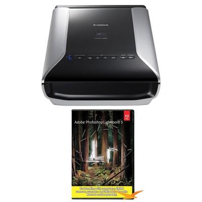 CanoScan 9000F Mark II Scanner with Photoshop Lightroom 5