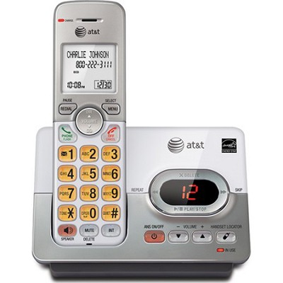 EL52103 DECT 6.0 Cordless Phone With Caller ID/Call Waiting/Answering Machine