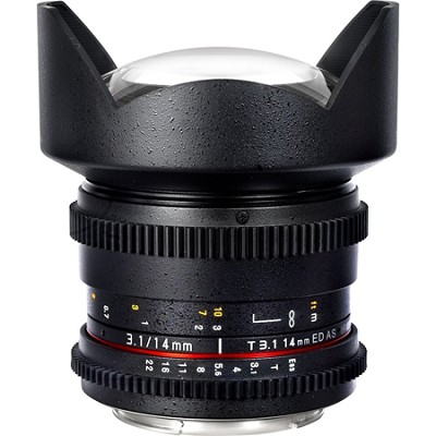 14mm T3.1 `Cine` IF ED Super Wide-Angle Lens for Sony A VDSLR
