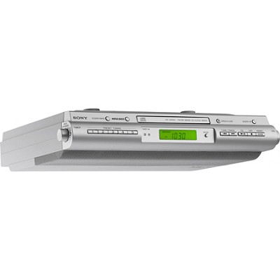 ICF-CDK50 Under Cabinet Kitchen CD Clock Radio