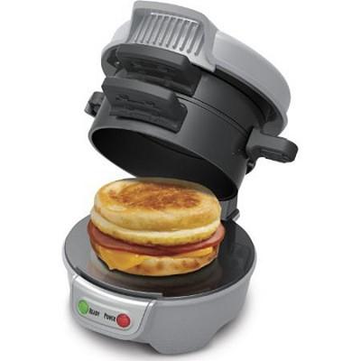 Breakfast Sandwich Maker, Gray (25475)