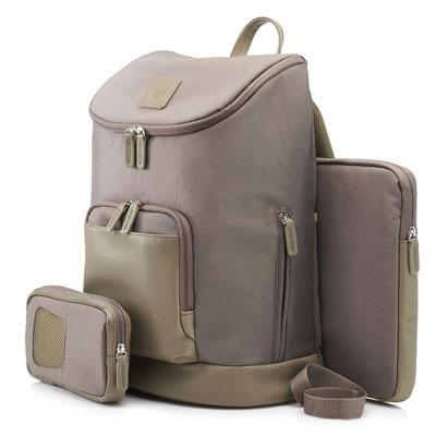 15.6` Tan Ladies Backpack