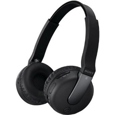 DRBTN200/BLK Bluetooth Headphones, Black