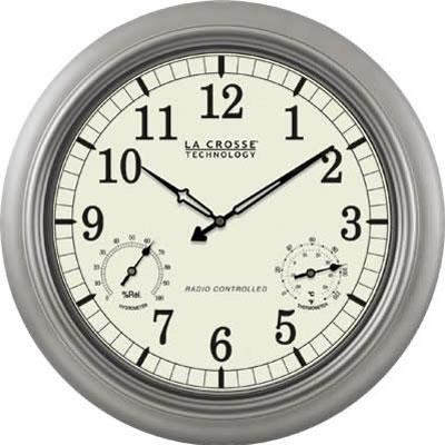 18` Atomic Outdoor Clock - WT-3181PL