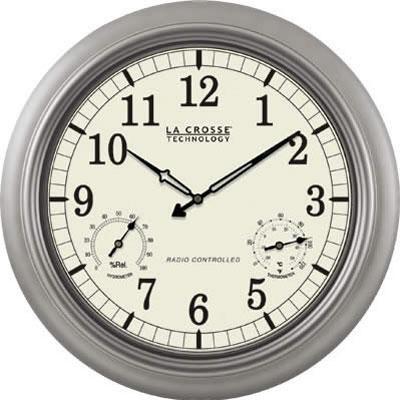 18` Atomic Outdoor Clock - WT-3181PL