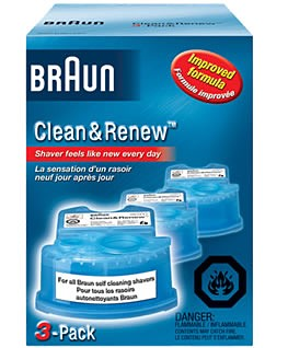 CCR3 SYNCRO Clean and Renew Shaver Refill -3 pack