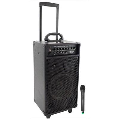 800-Watt VHF Wireless Portable PA System/Echo with iPod Dock