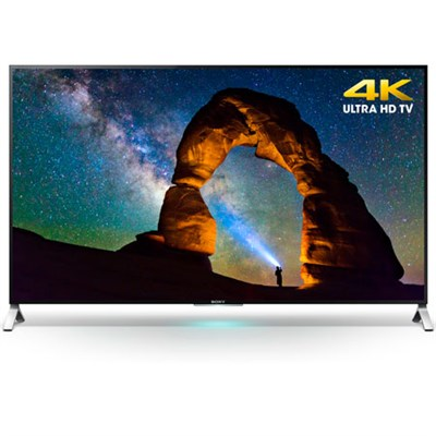 XBR-65X900C - 65-inch 4K Ultra HD 3D Smart LED TV - OPEN BOX