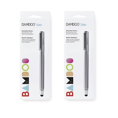Bamboo Solo Stylus for Tablets and Smartphones (2 Pack)