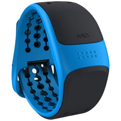 Link Heart Rate Monitor Wrist Band Blue - Longer Strap (56P-BLU)