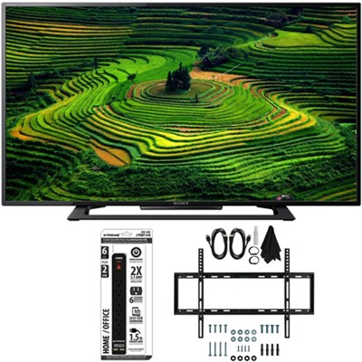 KDL-40R350D 40` Class Premium HD 1080p LED TV w/ Slim Wall Mount Bundle