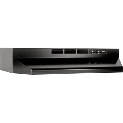 30` Non-ducted Under Cabinet Hood in Black - 413023