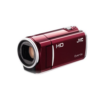 GZ-HM50US Flash Memory Camcorder - Red - OPEN BOX