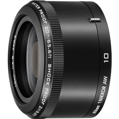 1 NIKKOR AW 10mm f/2.8 Lens Black