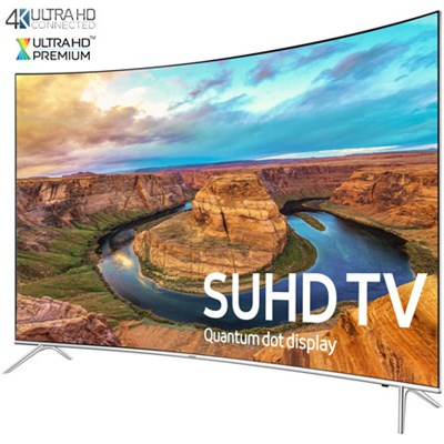 UN55KS8500 - Curved 55-Inch Smart 4K SUHD HDR 1000 LED TV - KS8500 8-Series