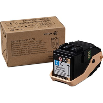 Cyan Standard Capacity Toner for Phaser 7100- 106R02599