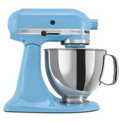 Artisan Series 5-Quart Tilt-Head Stand Mixer in Crystal Blue - KSM150PSCL