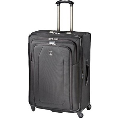 Crew 9 29` Expandable Spinner Suiter Suitcase Luggage - 407126901 (Black)