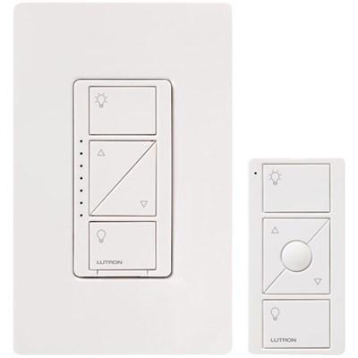 Caseta Wireless Multi-Location In-Wall Dimmer w/ Pico Remote Control Kit, White