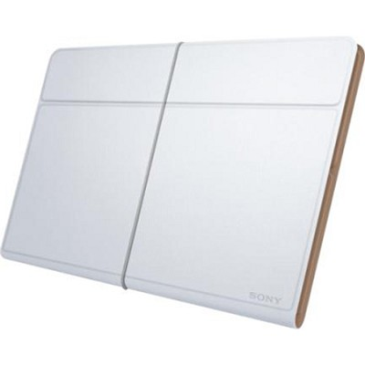 SGPCV5/W White Leather Cover for Xperia Tablet Z