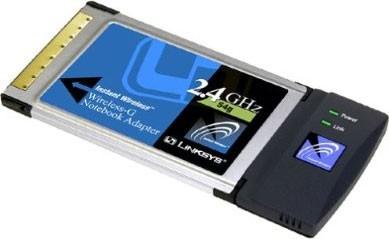 Wireless-G Notebook Adapter