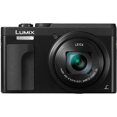 DMC-ZS70K Lumix 20.3 Megapixel 4K Digital Camera Black w/ Wi-Fi + 3` LCD Screen