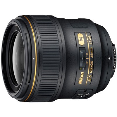 2198 AF-S NIKKOR 35mm f1.4G Lens - REFURBISHED