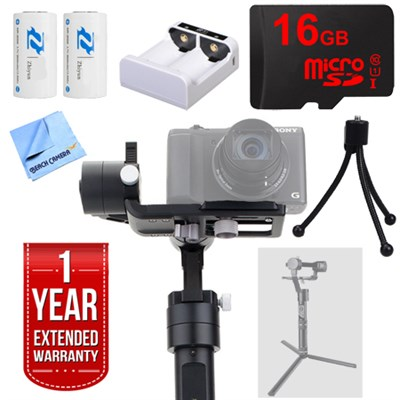 Crane-M 3-Axis Brushless Handheld Gimbal Stabilizer + 1 Year Extended Warranty