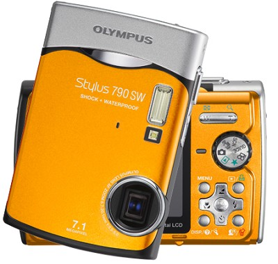 Stylus 790 SW Digital Camera (Orange)