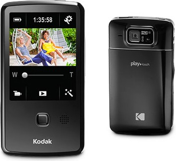 Playtouch Black 1080p HD Video Camera Camcorder w/ 3.0` Touchscreen