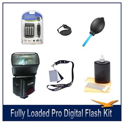 Fully Loaded Pro Digital Flash Kit For Pentax SLR Cameras