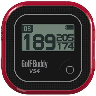 VS4 Golf GPS - Black/Red (GB7-VS4-BLKRED)