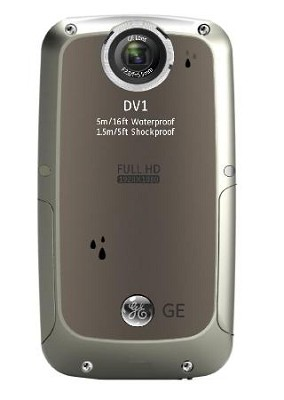 Active DV-1 GG Waterproof/Shockproof 1080P Pocket Video Camera Graphite Gray