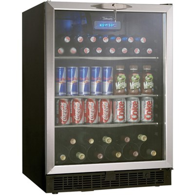 5.3 Cu. Ft. Silhouette Beverage Center in Black/Stainless Steel - DBC514BLS