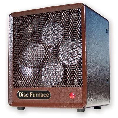 Comfort Glow The Original Brown Box Ceramic Disc Heater - BDISC6