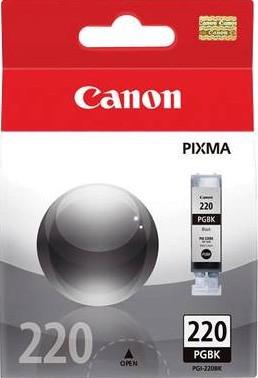 PGI-220 Black Ink Tank for MP640, MP980, MP990, MX860, iP4600 & Similar Printers