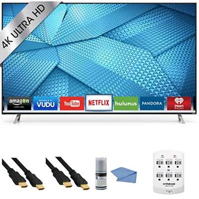 M60-C3 - 60-Inch 240Hz 4K Ultra HD Smart LED HDTV + Hookup Kit