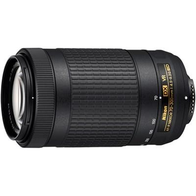 AF-P DX NIKKOR 70-300mm f/4.5-6.3G ED VR Lens - OPEN BOX