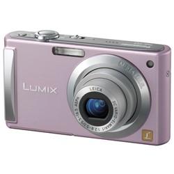 DMC-FS3P (Pink) 8 MP Digital Camera w/ 2.5-inch LCD & 3x Optical Zoom - OPEN BOX