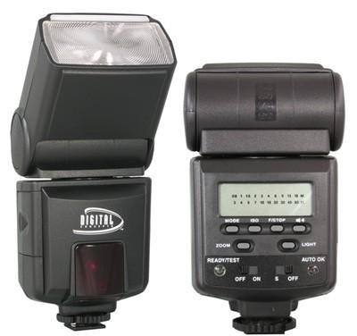 Digital Concepts 952AF TTL Power Zoom Flash for Nikon Digital