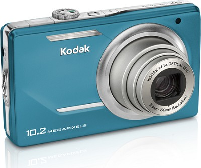 EasyShare M380 10.2 MP 3.0` LCD 5x Zoom Digital Camera (Teal)