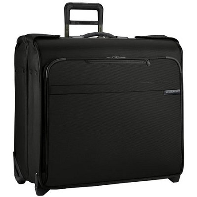 U178-4  Baseline 24` Wheeled Wardrobe - Black