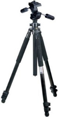 Classic 3-Section Aluminum Tripod w/ Flip Leg Locks & MH5001 Pan Head