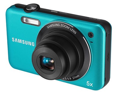 SL605 Durable Anti-Scratch Digital Camera (Blue)