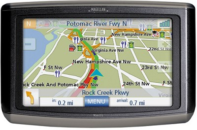 Maestro 4050 Portable Vehicle Navigation System w/ Voice Control & Live Traffic