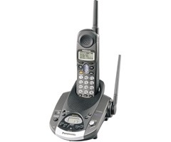 KX-TG2226BV 2.4GHz Digital Cordless Phone W/Digital Answering Machine (BLACK)