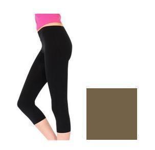 Capri Yoga Pants Olive Brown  ( Size 3X-5X )