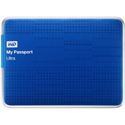 My Passport Ultra 2 TB USB 3.0Portable Hard Drive 6 Mon WD Warranty Refurbished