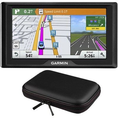 Drive 60LMT GPS Navigator (US Only) - 010-01533-0B with GPS Bundle